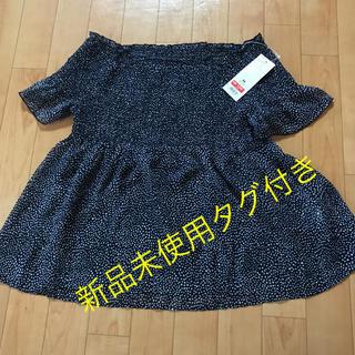 ジーユー(GU)のGU 2Way トップス(シャツ/ブラウス(半袖/袖なし))