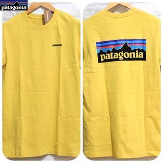 パタゴニア(patagonia)の新入荷 パタゴニア P-6 Tシャツ イエロー S(Tシャツ(半袖/袖なし))