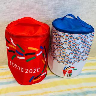 コカコーラ(コカ・コーラ)のコカコーラ オリンピック クーラーバッグ♪  TOKYO2020!保冷バッグ(その他)