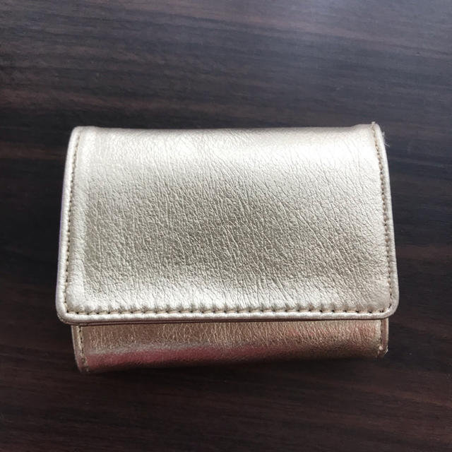 LEPSIM - コンパクト 財布 ゴールド ミニ財布の通販 by hina's shop|レプシィムならラクマ