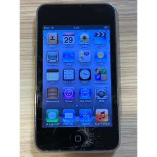 アイポッドタッチ(iPod touch)のiPod touch MC011J/A (第3世代) 64GB ジャンク品(ポータブルプレーヤー)
