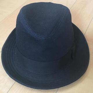 カシラ(CA4LA)の訳あり カシラ ca4la ブラック 黒 ハット 帽子 58cm(ハット)