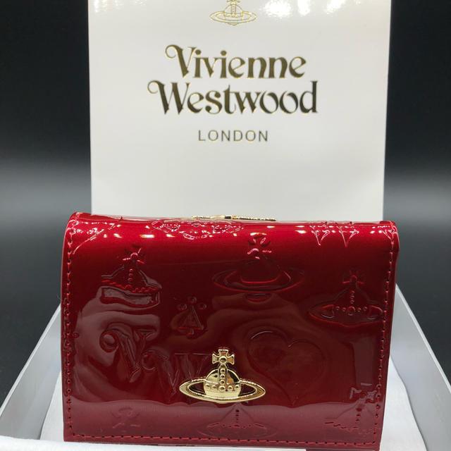 Vivienne Westwood - 【新品・正規品】ヴィヴィアンウエストウッド 折り財布 がま口 赤 エナメルの通販 by NY's shop|ヴィヴィアンウエストウッドならラクマ