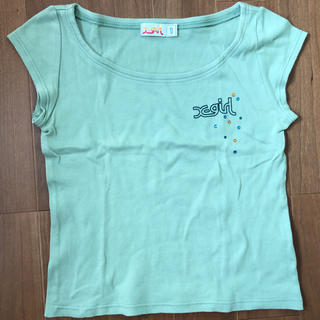 エックスガール(X-girl)の最終お値下げ X-girl Tシャツ サイズ1(Tシャツ(半袖/袖なし))
