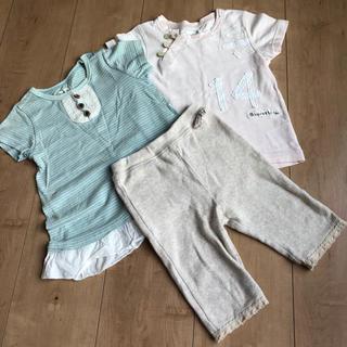 ビケット(Biquette)のビケット スパッツ Tシャツ 3点セット(パンツ/スパッツ)