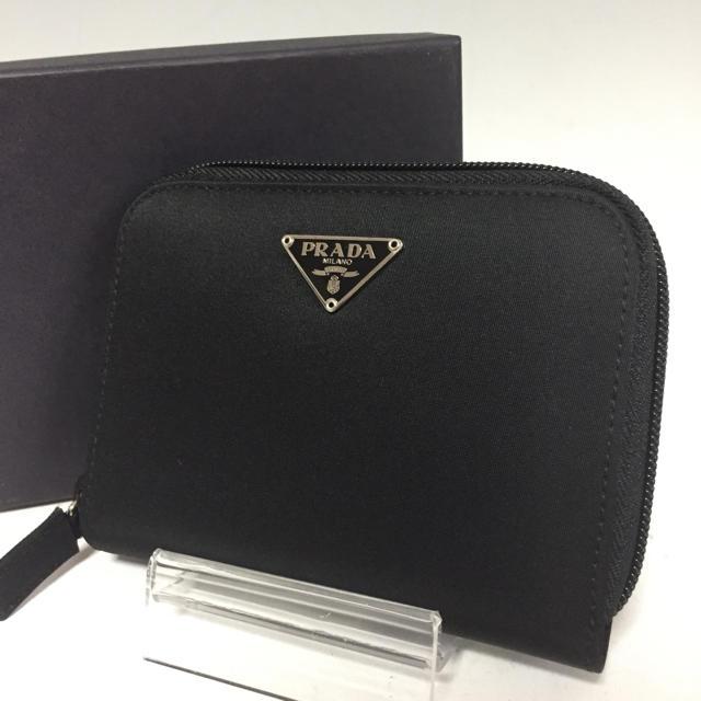 PRADA - PRADA 美品 黒 札入れ ナイロン M606 カードケース プラダの通販 by プロフ必読お願いします。|プラダならラクマ