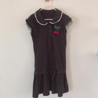 ベルメゾン(ベルメゾン)のポロシャツ ワンピース 130(ワンピース)