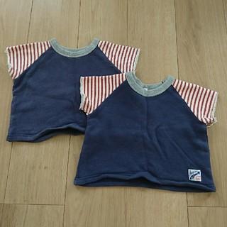 マーキーズ(MARKEY'S)のマーキーズ スウェット 半袖 2枚セット(Tシャツ)