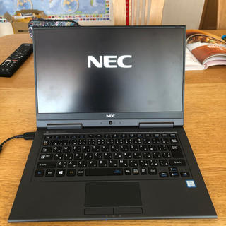 エヌイーシー(NEC)の値段交渉◎ 美品 NEC HZ350GABブラック 13.3型ワイドタッチパネル(ノートPC)