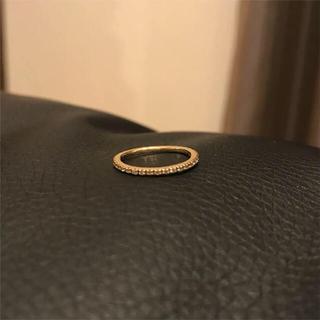 ココシュニック(COCOSHNIK)のココシュニック ラウンド エタニティ ダイヤモンド リング(リング(指輪))