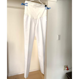 アイトス(AITOZ)のマタニティ 白衣 パンツ(マタニティボトムス)