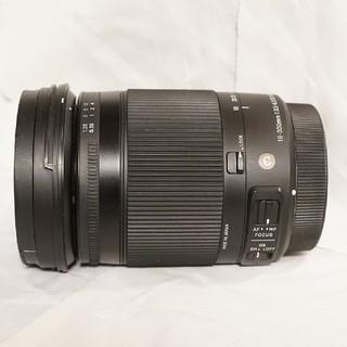 シグマ(SIGMA)の【美品】SIGMA 18-300mm F3.5-6.3 キヤノン用(レンズ(ズーム))