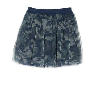 サルース(salus)のsalus KIDSガーリーチュールスカート カモフラージュ / 90cm(スカート)