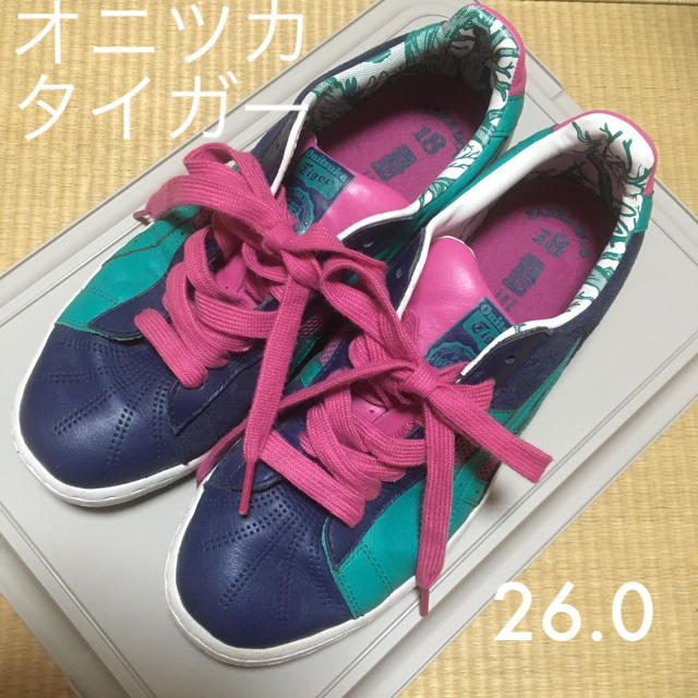 Onitsuka Tiger(オニツカタイガー)のオニツカタイガースニーカー 26センチ レディースの靴/シューズ(スニーカー)の商品写真