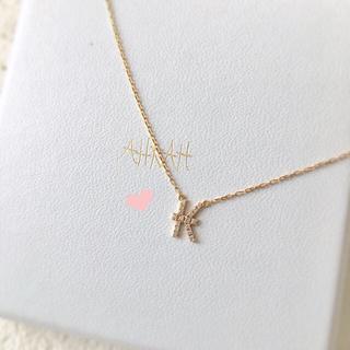 アーカー(AHKAH)のkさま専用❤︎ 美品✨ アーカー イニシャル ネックレス K(ネックレス)