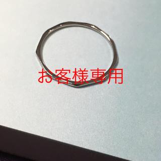 お客様専用⭐️プラチナ900 極細ピンキーリング(リング(指輪))