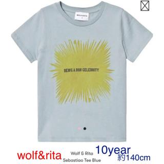ボンポワン(Bonpoint)のwolf&rita シャツ 10year 新品未使用未開封(Tシャツ/カットソー)