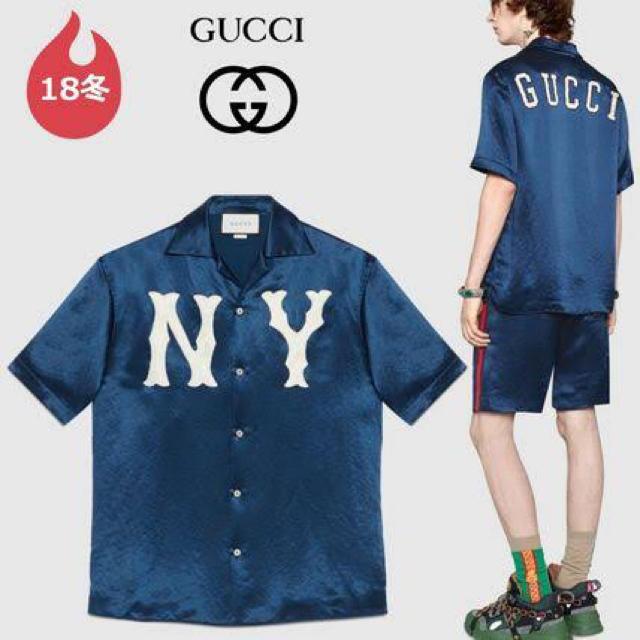 Gucci(グッチ)のgucci yankees ① メンズのトップス(シャツ)の商品写真