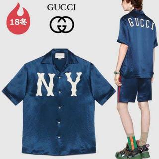 グッチ(Gucci)のgucci yankees ①(シャツ)