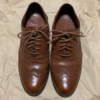 コールハーン(Cole Haan)のコールハーン 革靴 22cm:オックスフォードシューズ おじ靴 小さいサイズ(ローファー/革靴)