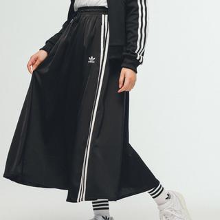 アディダス(adidas)のadidas ロングスカート サテン アディダスオリジナルス(ロングスカート)
