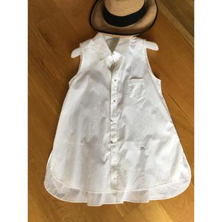 フォクシー(FOXEY)のフォクシーブティック ホワイトシャツ(シャツ/ブラウス(半袖/袖なし))