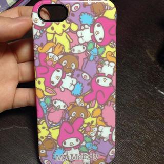 iPhone5ケース サンリオ(スマートフォン本体)