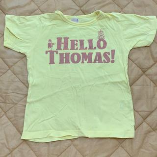 プティマイン(petit main)のプティマイン  トーマス Tシャツ イエロー(Tシャツ/カットソー)