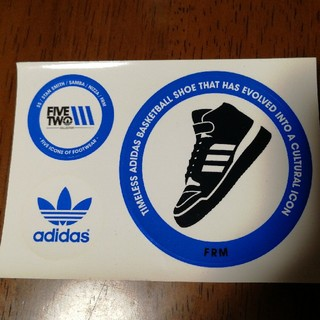 アディダス(adidas)の非売品 アディダス ステッカー(ノベルティグッズ)
