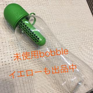 未使用 bobble 590ml グリーン(浄水機)
