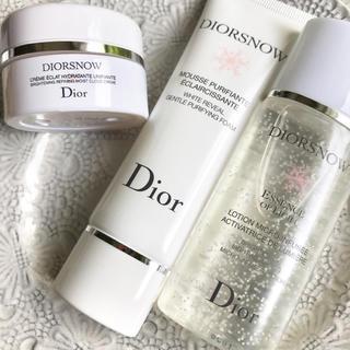ディオール(Dior)の【旅行用大サイズ】ディオールスノー クリーム ホワイトフォーム ローション(フェイスクリーム)