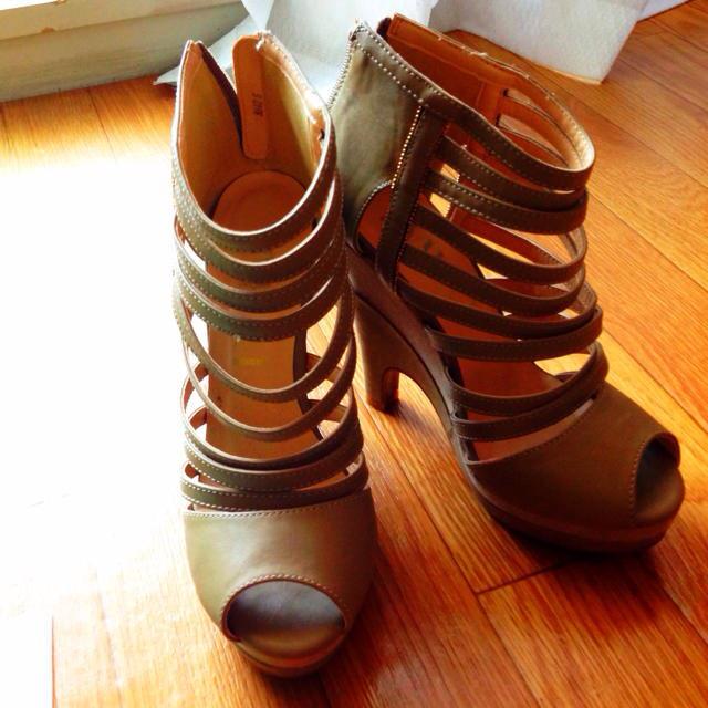 DURAS(デュラス)のDURAS グラディエーター レディースの靴/シューズ(ハイヒール/パンプス)の商品写真
