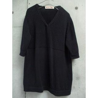 マルニ(Marni)の MARNI マルニ カシミヤ混 サマーニット(Tシャツ/カットソー(半袖/袖なし))