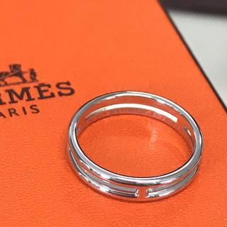 エルメス(Hermes)の《最終値下げ》HERMES エルメス アリアンヌ リング WG 48 49 指輪(リング(指輪))