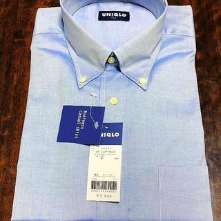 ユニクロ(UNIQLO)のユニクロビジネスカジュアルシャツ(ライトブルー)vol2(シャツ)