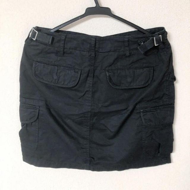 LOWRYS FARM(ローリーズファーム)のLOWRYS FARM 黒 ミニタイトスカート レディースのスカート(ミニスカート)の商品写真