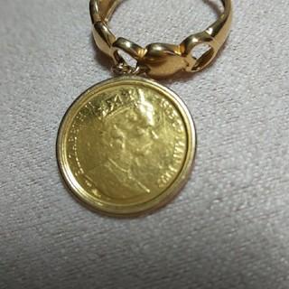 K18 ジュエリーコインリング(リング(指輪))