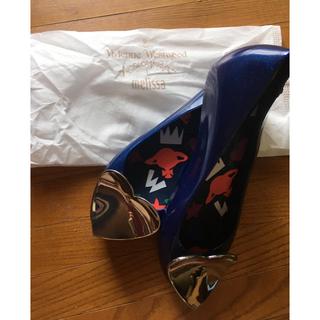 ヴィヴィアンウエストウッド(Vivienne Westwood)の【新品】melissa×Vivienne Westwood 24.5cm(バレエシューズ)