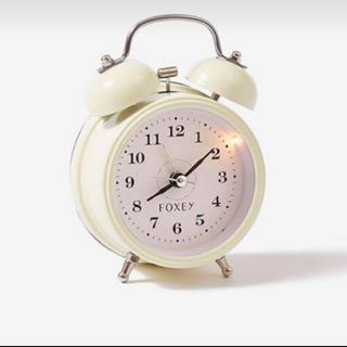 フォクシー(FOXEY)のfoxey  目覚まし時計(置時計)