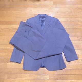 エイチアンドエム(H&M)のH&M ジャケット パンツおまけ ニューヨーク直営店購入品 グレーストライプ(スーツジャケット)