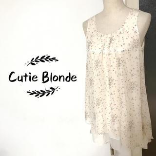 キューティーブロンド(Cutie Blonde)のCutie Blonde チュニック ワンピース(チュニック)