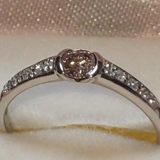 今月いっぱいの限界お値下げ‼️天然ピンクダイヤモンドエタニティリング(リング(指輪))