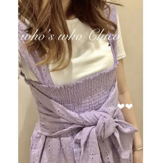 who's who Chico - who's who Chico 2wayベアパンツ