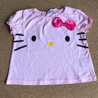 シマムラ(しまむら)のキティちゃん 半袖Tシャツ 90cm(Tシャツ/カットソー)