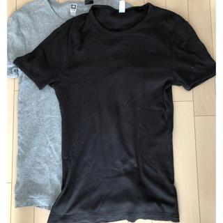 ジースター(G-STAR RAW)の無地 Tシャツ二枚組み パックT(Tシャツ/カットソー(半袖/袖なし))
