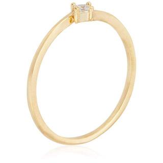 [ミルブラン]キュービックジルコニアリングサイズ11号レディース(リング(指輪))