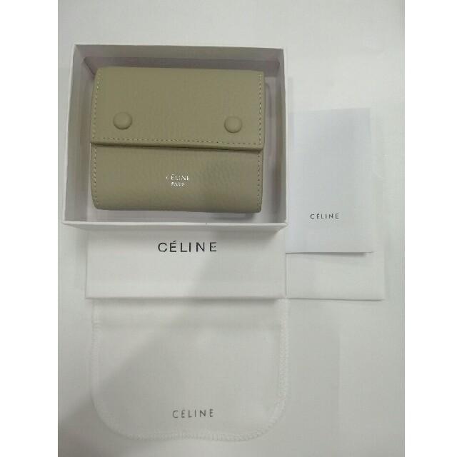 celine - お勧め セリーヌCeline   折り財布   美品 ブラック  便利 軽い の通販 by 福🎈💕本's shop|セリーヌならラクマ