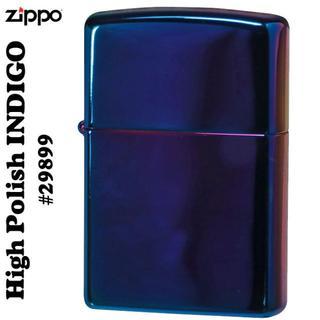 ジッポー(ZIPPO)の送料無料 zippo(ジッポーライター) インディゴ(タバコグッズ)