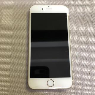 アップル(Apple)のジャンク品iPhone6s 64GB Gold (スマートフォン本体)