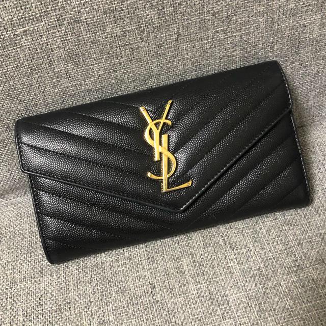 Saint Laurent - サンローラン 長財布の通販 by みき's shop|サンローランならラクマ